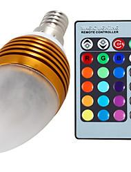 Luci LED a candela 3 Illuminazione LED integrata 无 C35 E14 5W Intensità regolabile / Controllo a distanza / Decorativo 400 LMColori