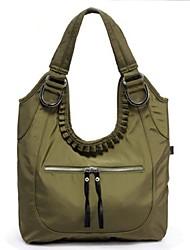 Women Nylon Weekend Bag Tote - Green