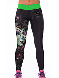 Women's Banshee Print Stretch Yoga Pants