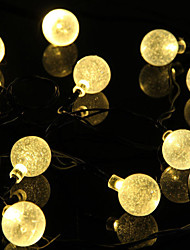 Christmas A Ball bulb led solar outdoor decoration all over the sky star of lamps 5M  50LED