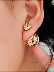 JY Jewelry Wire ball stud earrings