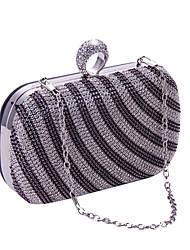 L.WEST®  Women's  Event/Party / Wedding / Evening Bag Diamond Delicate Handbag