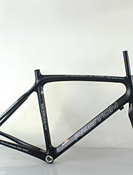 700C Carbon Fiber Road Bike Frame And Front Fork RST-RB10 Carbon Fiber Bicycle Accessories