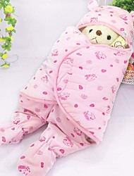 0-12M Soft Warm Winter Baby Infant Swaddle Bag Newborn Sleeping Bag One-piece Dress