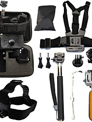 Telescopic Pole Chest Harness Front Mounting Case/Bags Straps Mount / Holder Waterproof Floating ForAll Gopro Gopro 5 Gopro 4 Gopro 4