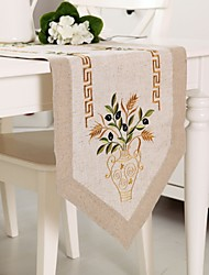 Tablerunner Nature Linen Table Runner 40*85cm(15*36'')