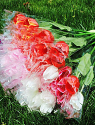 Silk / Plastic Tulips Artificial Flowers