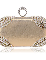 L.west Women Diamonds Evening Bag