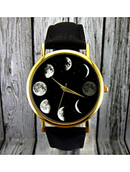 Moon Phase Watch, Astronomy Watch,Space Watch,Women's Watch,Mens Watch Gift Custom Watch Fashion Accessory Cool Watches Unique Watches Strap Watch
