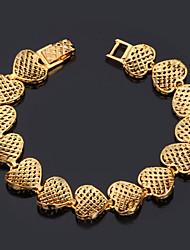 Goud / Zilver / Legering Dames Chain Armbanden Geen Steen