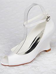Women's Wedding Shoes Heels / Open Toe Sandals Wedding / Party & Evening / Dress White