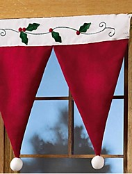 Christmas Ornaments Curtains Hang Act The Role Of Christmas