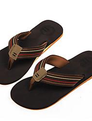 Slippers, sandals men sandals flip soft cloth with non-slip rubber