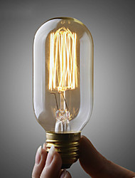 110v o 220v ST45 Edison bombilla Umei ™ / bombilla de filamento de la lámpara Edison retro / cobre e26 e27 40w bombilla