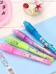 3шт невидимые почерк ручки (случайный цвет)