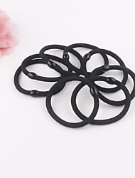Kid's 10 pieces Pack High quality Black Elastic Hair Bands