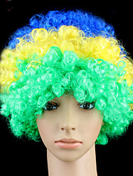 Colorful Clown Curly Beautiful Wig Halloween Party Wig