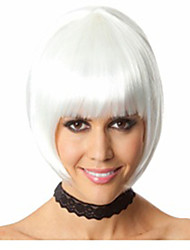 Hot Selling Factory Wholesale White Color BoBo Head Is Euramerican Style Wig Hot Style