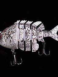 1 pcs Harte Fischköder / Angelköder Harte Fischköder Grau 14 g Unze,80 mm Zoll,Fester Kunststoff Seefischerei