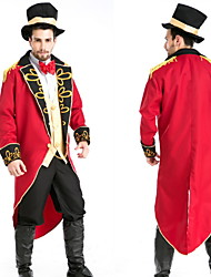 Halloween Mens Royal Earl + Hat + Coat + Shirt + Tie + Pants + Gloves(7 Pcs)