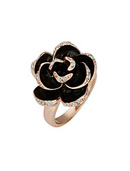 Ring Women's Cubic Zirconia Alloy Alloy 6 / 7 / 9 Gold