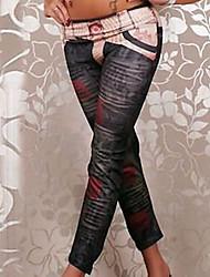 De las mujeres Pantalones Deportivo - Casual Microelástico - Poliéster
