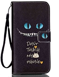 Don't Touch My Phone Painted PU Phone Case for iPhone 7 7 Plus 6s 6 Plus SE 5s 5c 5 4s 4