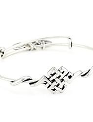 Bracelets Rigides 1pc,Argent Bracelet Alliage Bijoux Femme / Hommes / Couple