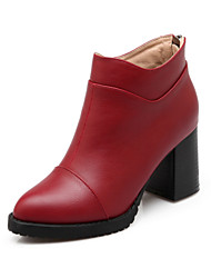 Women's Shoes Synthetic Chunky Heel Cowboy /  Snow Boots / Riding Boots / Fashion Boots /Combat Boots Boots