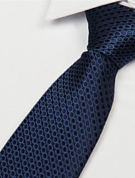Black Dots Pattern Men Business Casual Occupational Tie