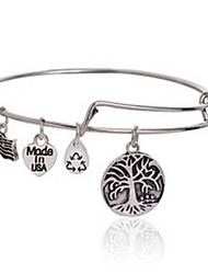 Tree of Life Charm Bangle Rafaelian Bangle Bracelet One Size(diameter :65mm)