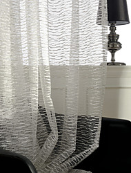 Country Curtains® Two Panels Jacquard Mosaic Sheer Curtains Drapes