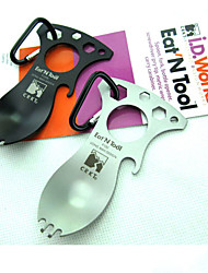 River Knife and Tool's Eat N Tool 9100C Silver Multi Tool