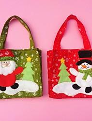 christmas santa Handtaschensüßigkeitgeschenkbeutel Weihnachtsdekoration