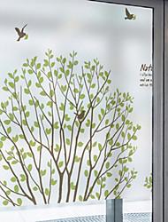 Art Déco Contemporain Autocollant de Fenêtre,PVC/Vinyl Matériel Décoration de fenêtre