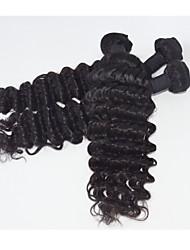"""3pcs de belleza de la moda / lot 8 """"-30"""" maraña de cabello humano cruda ola enrollamiento profundo pelo virginal brasileño libre"""