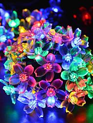 Weihnachten orientalischen Kirsche Birne LED Solar Außendekoration ganz über dem Himmelstern-Lampen 4,8 Mio. 20LED