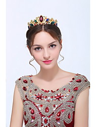 Women's Baroque Gold / Alloy Headpiece - Wedding / Special Occasion / Casual Tiaras 1 Piece