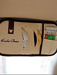 el coche coche parasol con cd / cd clip conjuntos visera cd clip de disco
