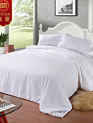 Four Seasons 100% Cotton Quilt Silk Blanket White Pure Comforter Pink Home Textile Silk Quilts Bedding Sets