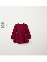 Vestido Chica de - Invierno / Primavera / Otoño - Otros - Negro / Rojo / Gris