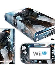 Autocollant - Wii U / Nintendo Wii U - Nouveauté - Audio et vidéo - en PVC / Caoutchouc - For Wii U Console & GamePad - #