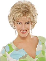 Top Quality Fashion Short Curly Wig Woman's Synthetic Wigs Hair