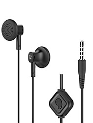 Langsdom M159 Wired 3.5mm Flat Ear Headphone Noise Cancelling Microphone Earphone Super Bass For IPhone Samsung MP3 4