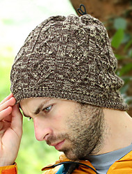 Men's Multifunction Double Thick Knitted Hat