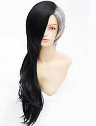 Cosplay Wig Tokyo Ghouls Black Ash Dichromatic Anime Wigs
