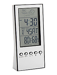 Water Power Multi-Functional Clock And Weather Station