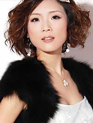 Women's Fashion Faux Fur Shawl