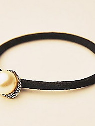 Alloy Pearl Accessories Hair Tie in Daily