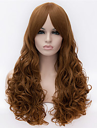 Fashion Models in Europe and America Must-Colored Long Hair Wig